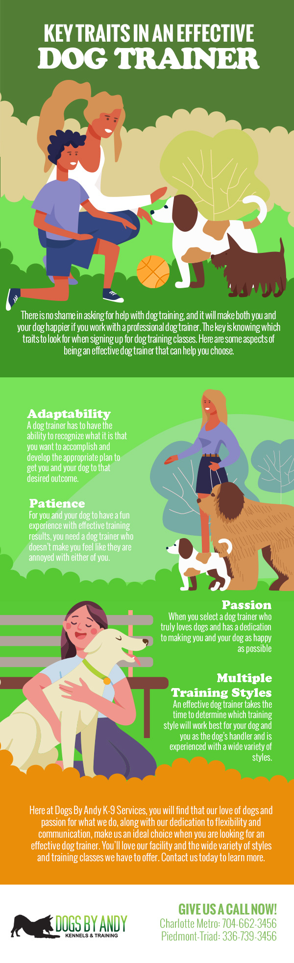 Key Traits in an Effective Dog Trainer